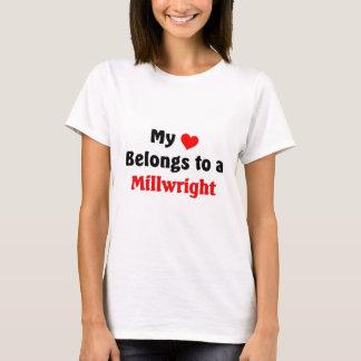 My heart belongs to a Millwright T-Shirt