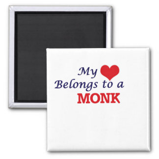 My heart belongs to a Monk Magnet