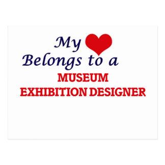 My heart belongs to a Museum Exhibition Designer Postcard