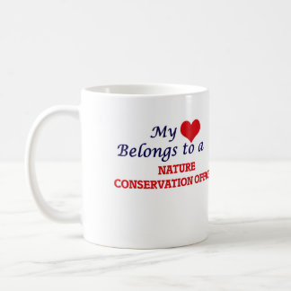My heart belongs to a Nature Conservation Officer Coffee Mug