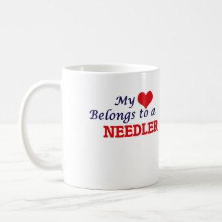 My heart belongs to a Needler Coffee Mug