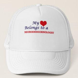 My heart belongs to a Neuroendocrinologist Trucker Hat