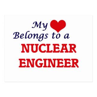 My heart belongs to a Nuclear Engineer Postcard