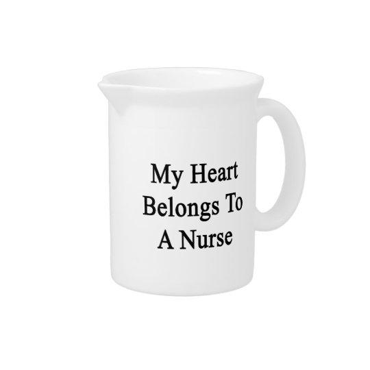 My Heart Belongs To A Nurse Pitcher