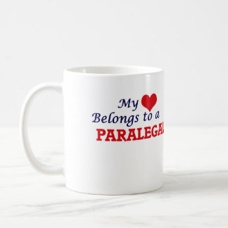 My heart belongs to a Paralegal Coffee Mug