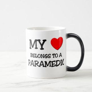 My Heart Belongs To A PARAMEDIC Mugs