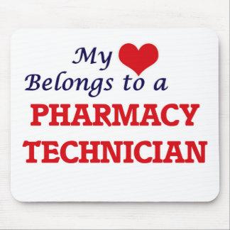 My heart belongs to a Pharmacy Technician Mouse Pad