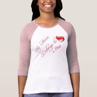 My Heart Belongs to a Pilot Tee