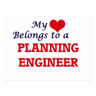 My heart belongs to a Planning Engineer Postcard