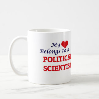 My heart belongs to a Political Scientist Coffee Mug