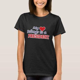 My heart belongs to a President T-Shirt
