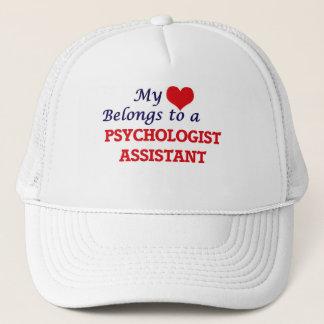My heart belongs to a Psychologist Assistant Trucker Hat