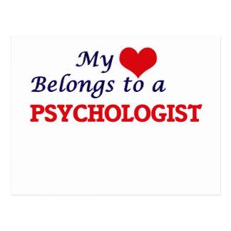 My heart belongs to a Psychologist Postcard