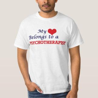 My heart belongs to a Psychotherapist T-Shirt