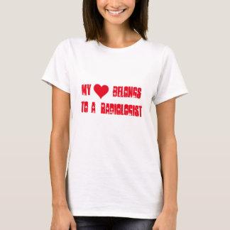 My heart belongs to a radiologist T-Shirt