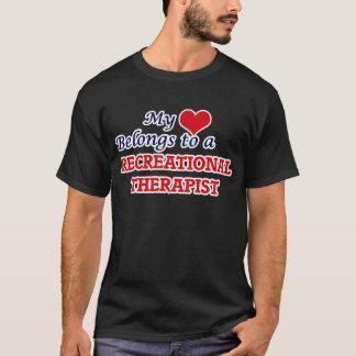 My heart belongs to a Recreational Therapist T-Shirt