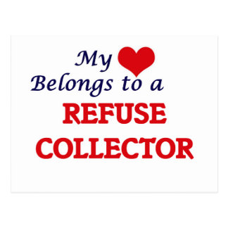 My heart belongs to a Refuse Collector Postcard