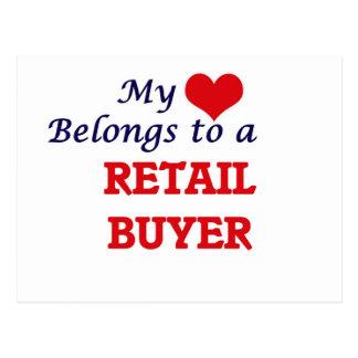 My heart belongs to a Retail Buyer Postcard