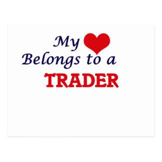 My heart belongs to a Trader Postcard