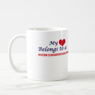 My heart belongs to a Water Conservation Officer Coffee Mug