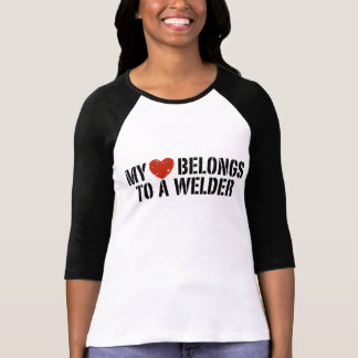 My Heart Belongs to a Welder T-Shirt