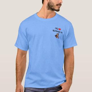 My heart belongs to a Yorkshire Terrier T-Shirt
