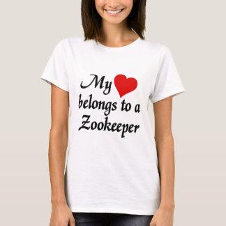 My heart belongs to a Zookeeper T-Shirt