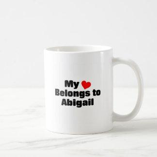 My heart belongs to Abigail Coffee Mug