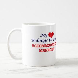 My Heart Belongs to an Accommodation Manager Coffee Mug