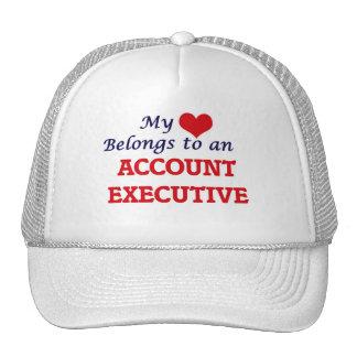 My Heart Belongs to an Account Executive Trucker Hat