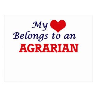 My Heart Belongs to an Agrarian Postcard