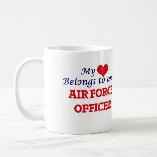 My Heart Belongs to an Air Force Officer Coffee Mug