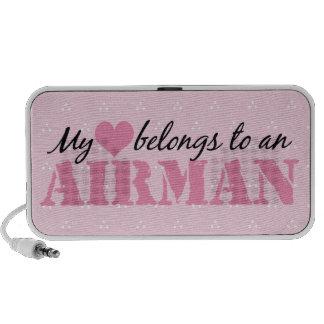 My Heart Belongs To An Airman Travel Speakers