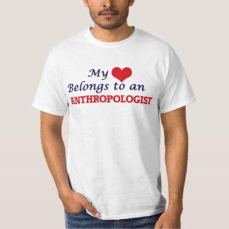 My Heart Belongs to an Anthropologist T-Shirt