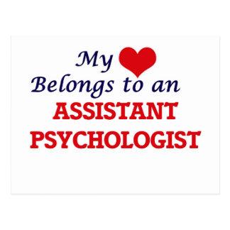 My Heart Belongs to an Assistant Psychologist Postcard