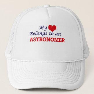 My Heart Belongs to an Astronomer Trucker Hat