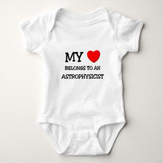 My Heart Belongs To An ASTROPHYSICIST Baby Bodysuit