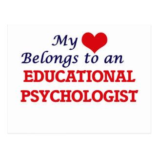 My Heart Belongs to an Educational Psychologist Postcard