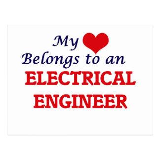 My Heart Belongs to an Electrical Engineer Postcard