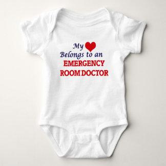 My Heart Belongs to an Emergency Room Doctor Baby Bodysuit