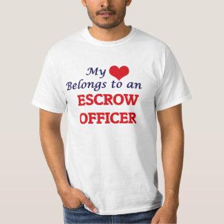 My Heart Belongs to an Escrow Officer T-Shirt