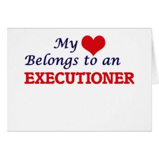 My Heart Belongs to an Executioner Card