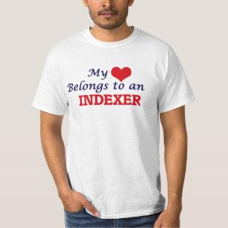 My Heart Belongs to an Indexer T-Shirt