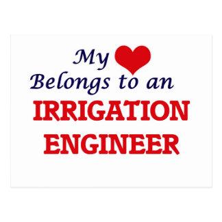 My Heart Belongs to an Irrigation Engineer Postcard