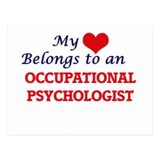 My Heart Belongs to an Occupational Psychologist Postcard
