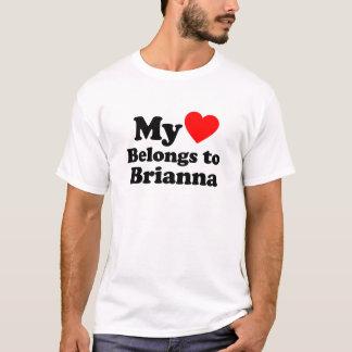 My Heart Belongs to Brianna T-Shirt