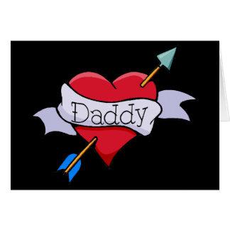 My Heart Belongs to Daddy Tat Card