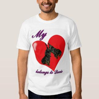 My Heart belongs to doxie T Shirt