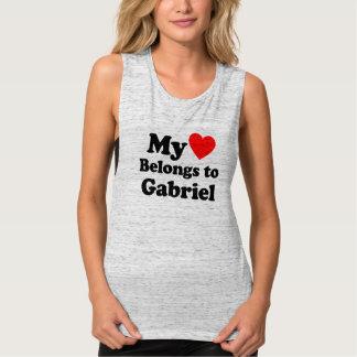 My Heart Belongs to Gabriel Tank Top
