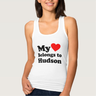 My Heart Belongs to Hudson Tank Top